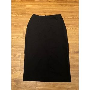 Express Black Pencil Skirt Size 4